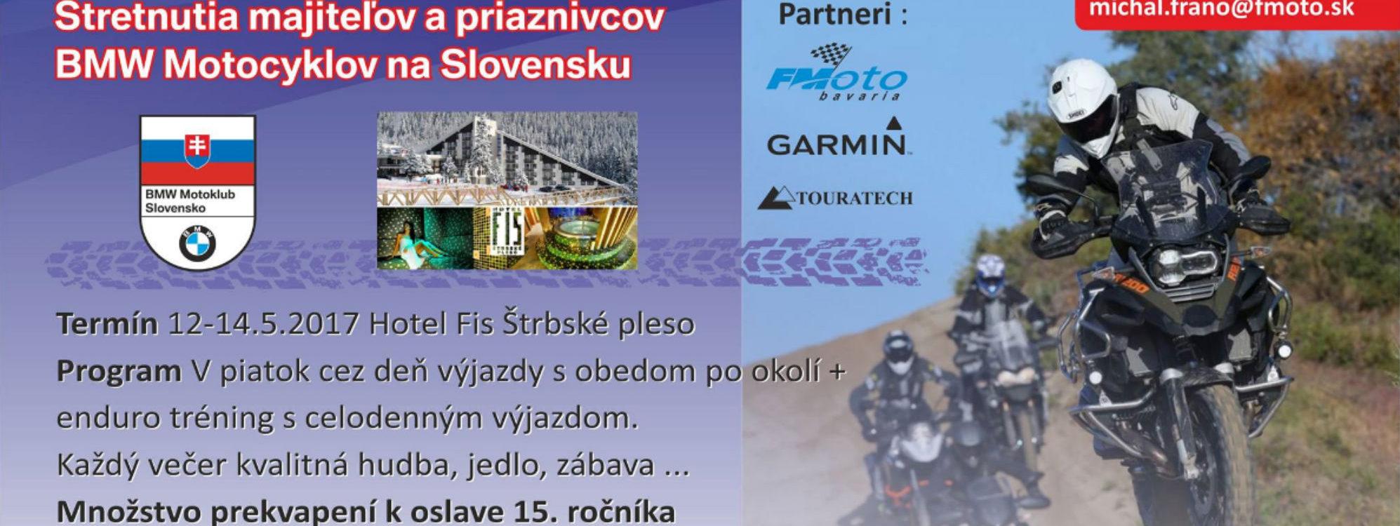 BMW sraz Slovensko